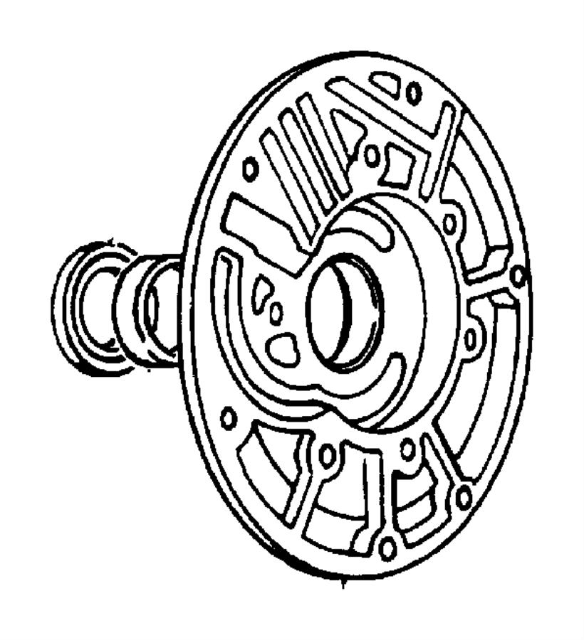 2004 Chrysler PT Cruiser Seal. Impeller, impeller hub. 57