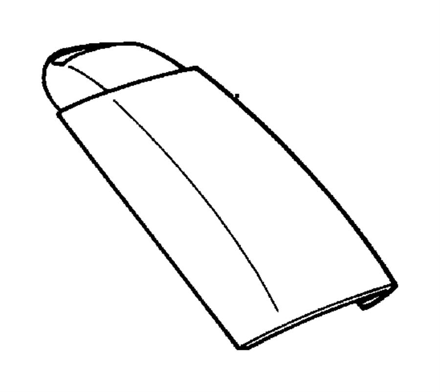 Dodge Durango Armrest. Console. [k9], camel tan/agate