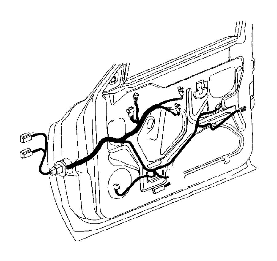 Dodge Ram 1500 Wiring. Door. Power, windows, infinity