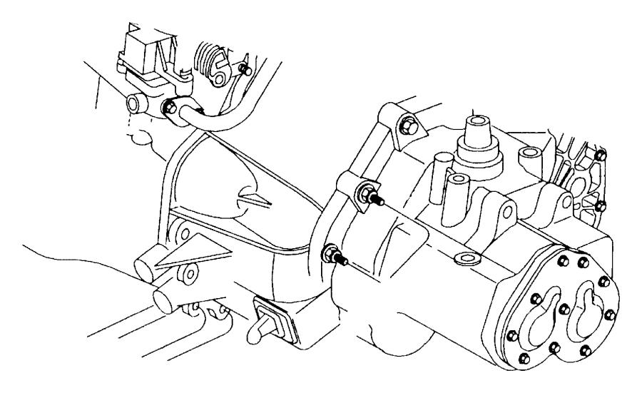 2002 Dodge Neon Actuator. Hydraulic clutch. Clutch master