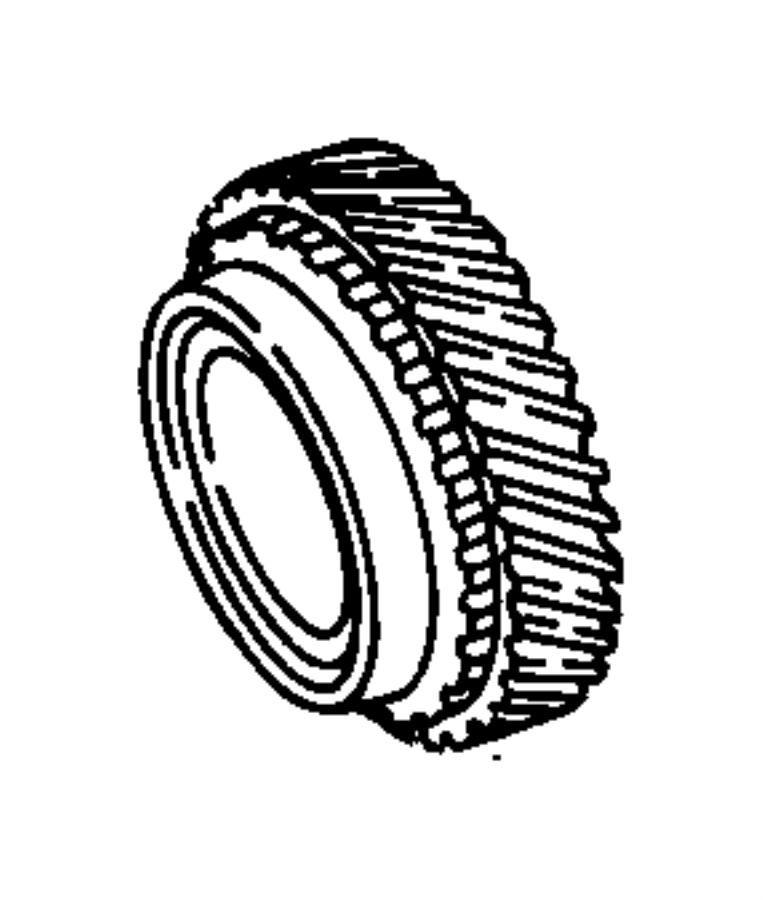 Chrysler PT Cruiser Ring. 4th gear. Retaining. Liftgepic