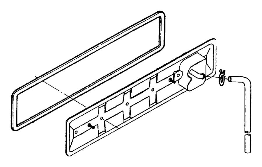 1992 Dodge Cover. Camshaft. Block, emissions, cylinder