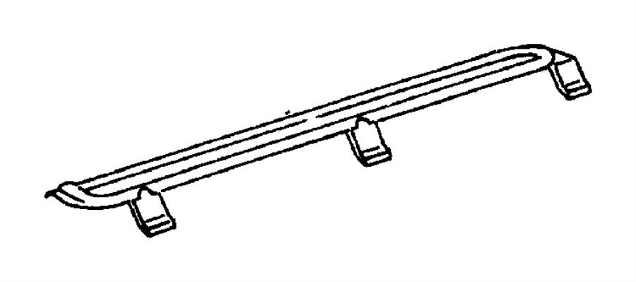 2000 Chrysler Grand Voyager Retainer. Tappet yoke aligning