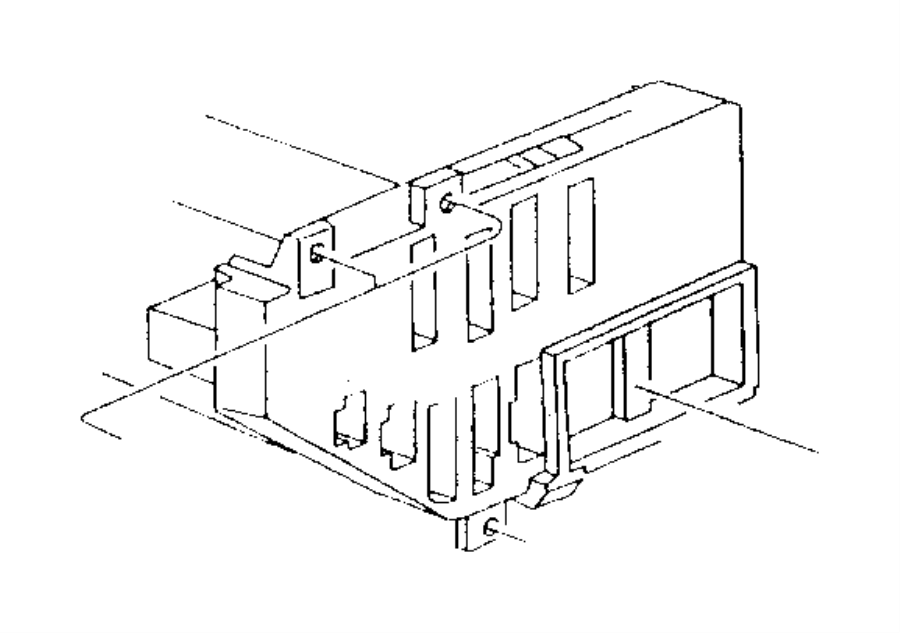 1986 Dodge Grand Caravan Fuse. Ato, standard. 30 amp