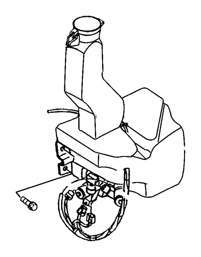 Chrysler Grand Voyager Sensor. Washer fluid level