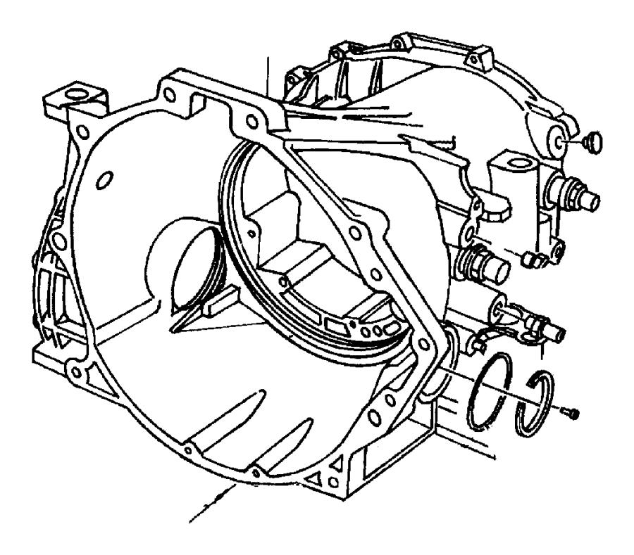 2007 Dodge Ram 3500 Sensor. Transmission output speed