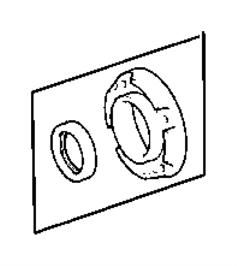 2007 Dodge NITRO Seal. Input gear. Canada, u.s., export