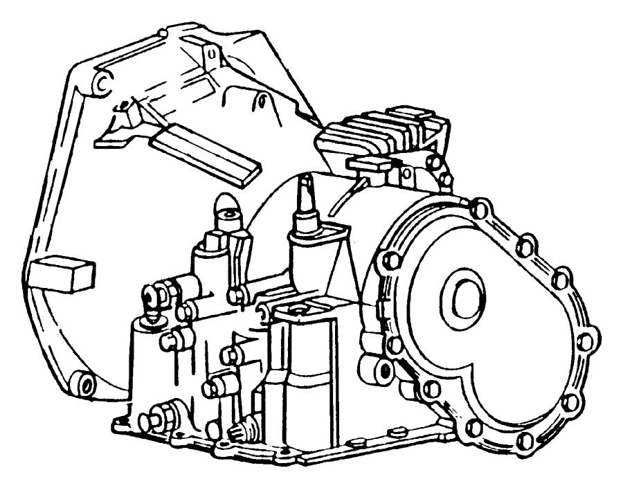 1998 Dodge Stratus Trans. With torque converter