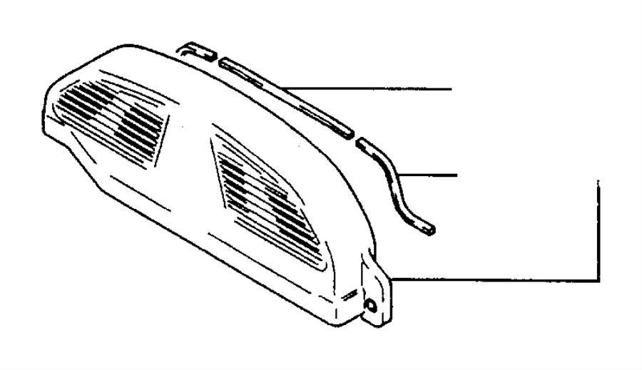Chrysler Sebring Gasket. Timing cover. Belt, engine, turbo