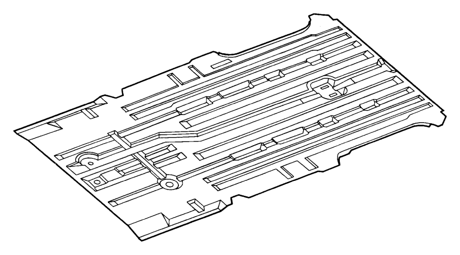 Chrysler Grand Voyager Pan package. Floor. (lwb). Drive