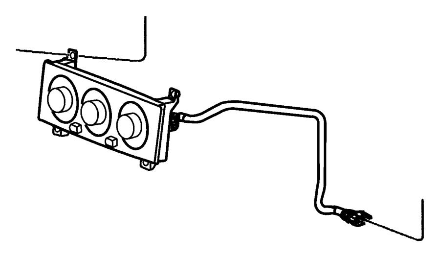 1998 Dodge Durango Control. Auto temp control. Air, dual