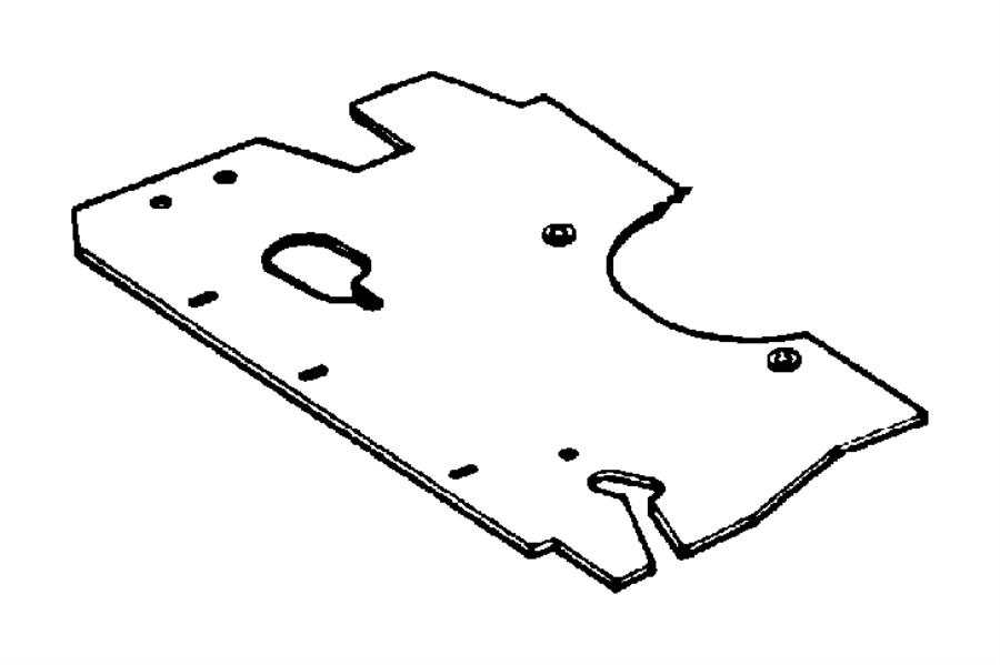 1997 Jeep Cherokee Shield. Engine. Related, radiator