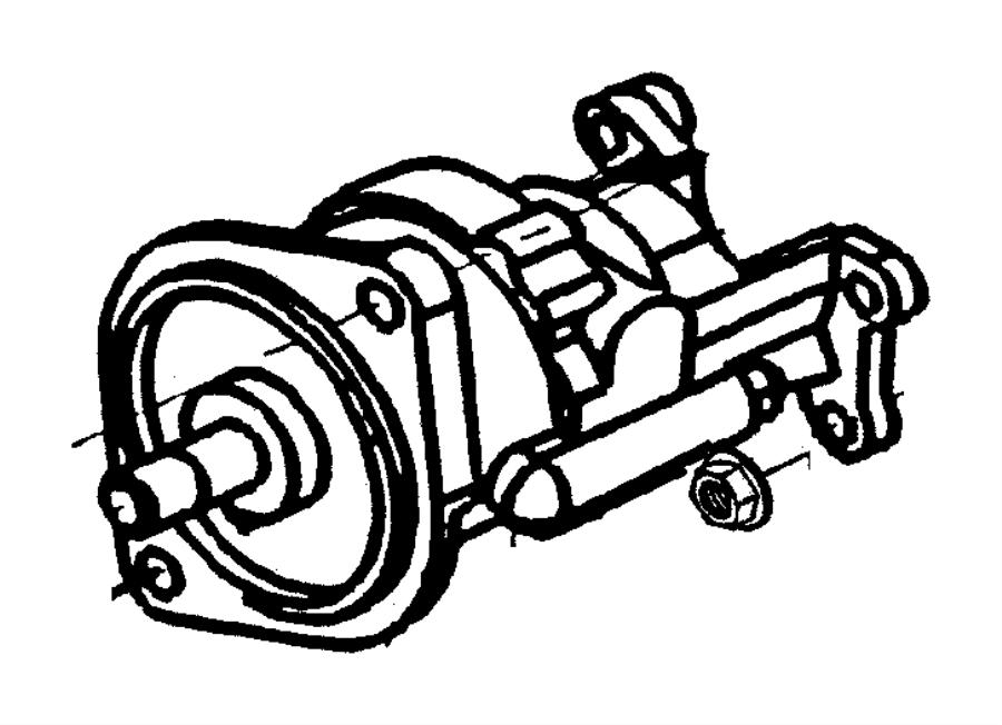 1999 Dodge Ram 3500 Pump. Vacuum. Etb. Emissions, diesel