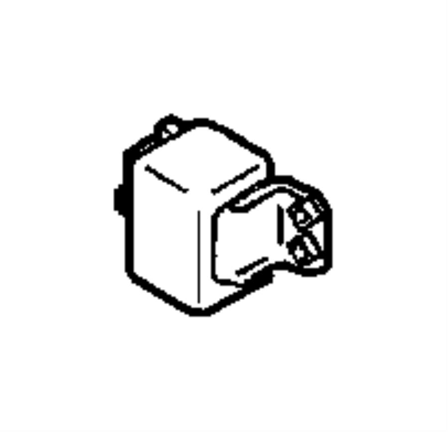 Jeep Wrangler Bracket, relay. Micro, mini. Trim: [all trim