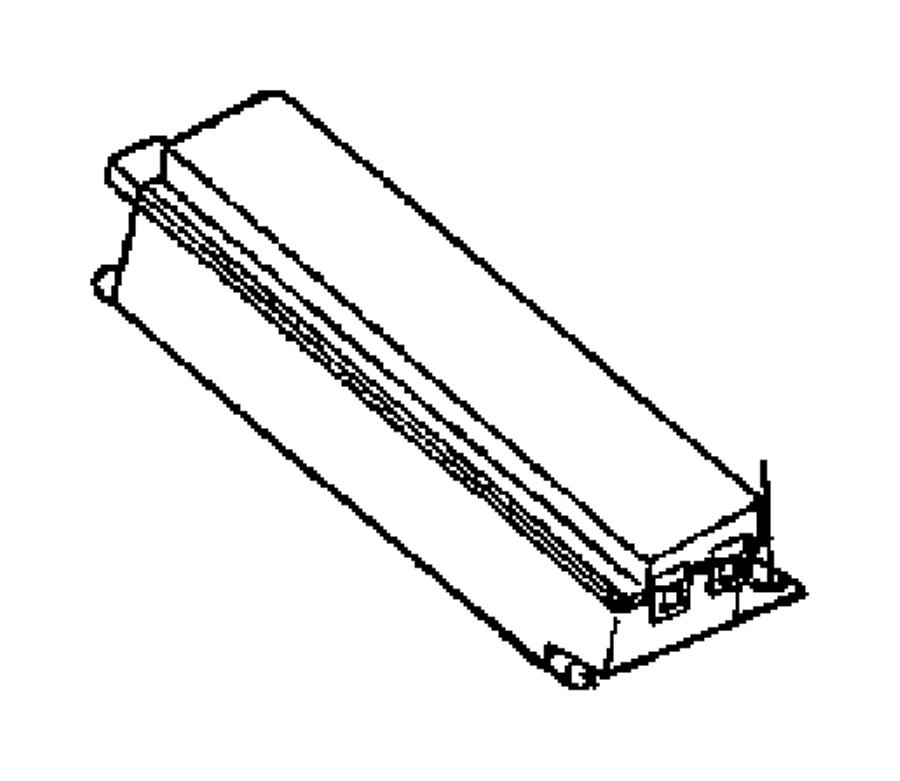 Dodge Grand Caravan Fuse. Maxi. 40 amp, amber, 40 amp