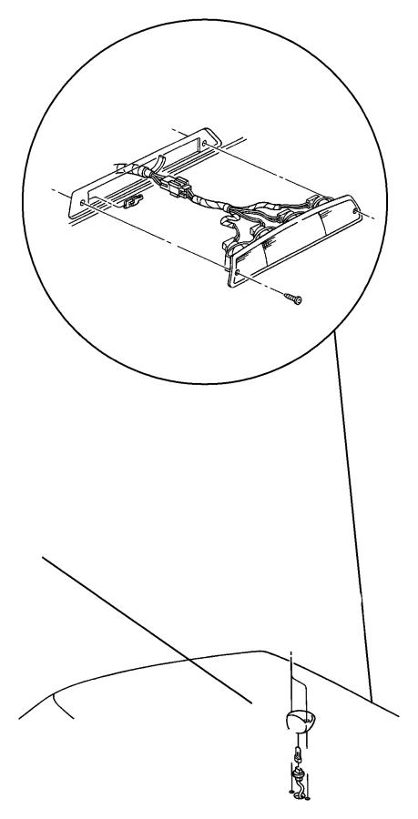 Chrysler PT Cruiser Bulb. 194. Cluster, console gear