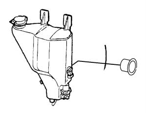 2006 Dodge Grand Caravan Sensor Washer fluid level  55155039   Mopar Parts Inc,