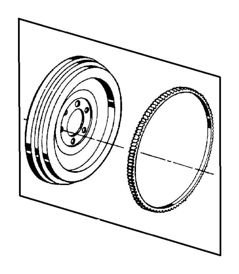 1991 Dodge Bearing. Pilot. Manual transmission