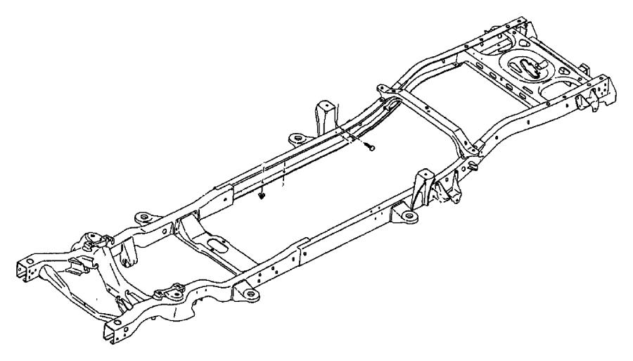 2010 Chrysler Sebring Shackle. Spring. Left, left front