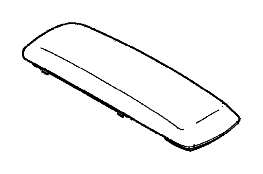 Dodge Durango Pad. Armrest. Trim: [all trim codes] color