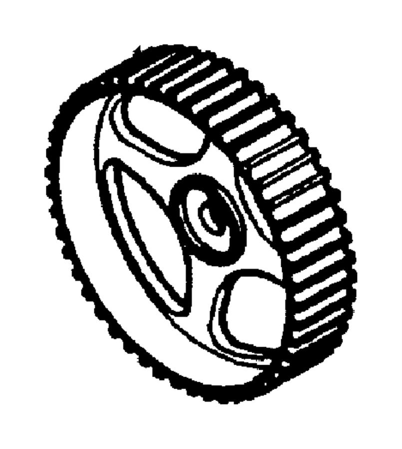 2001 Chrysler Sebring Gear. Camshaft. Timing, belt, cover