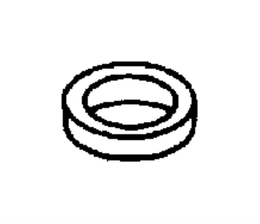 2000 Dodge Neon Seal. Manual shift valve. 1.25 od