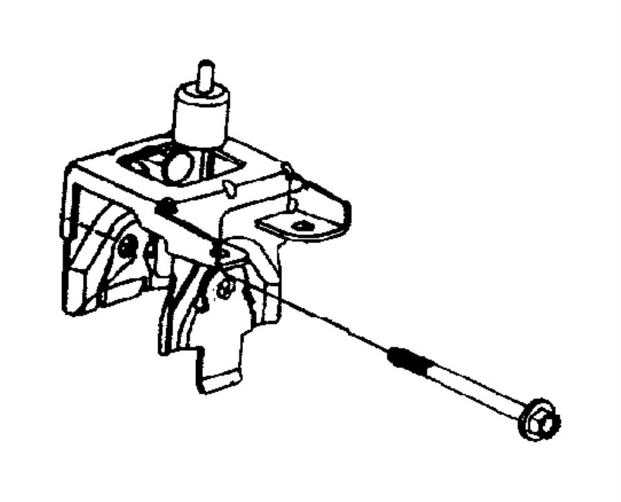 2002 Chrysler Voyager Support. Transmission. Engine