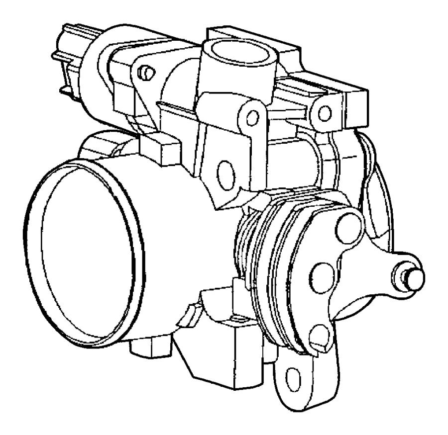 Dodge Caravan Motor. A.i.s. With (edv) engine. Body