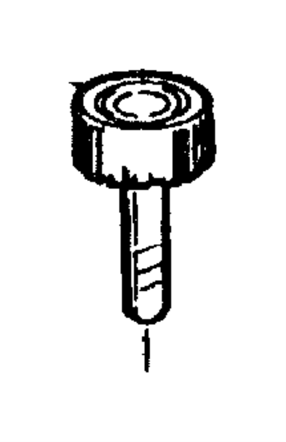 1997 Jeep Wrangler Reservoir. Power steering fluid. Pump
