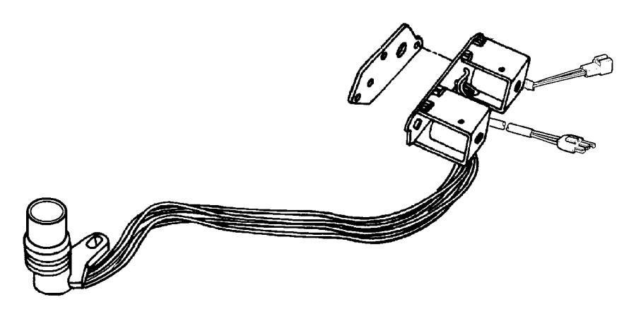 2004 Dodge Ram 2500 Solenoid. Transmission overdrive