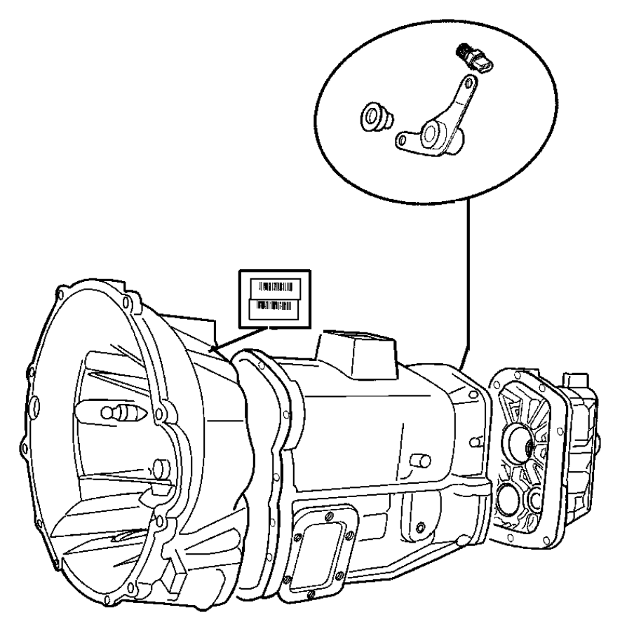 Dodge Dakota Bushing. Exhaust hanger. [all 4/5 cyl turbo