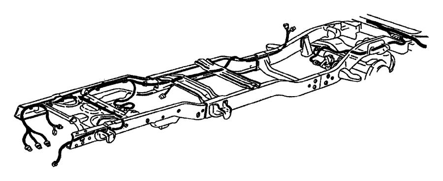 Dodge Ram 1500 Wiring. Tail lamp, used for: turn signal