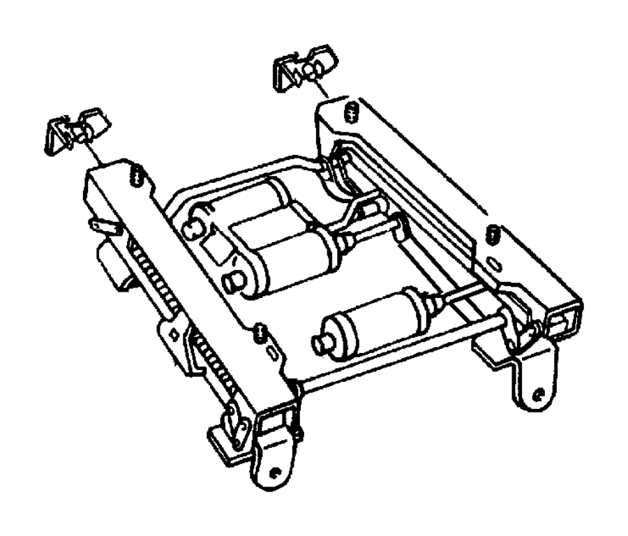 1998 Dodge Durango Adjuster. Power seat. Mopar