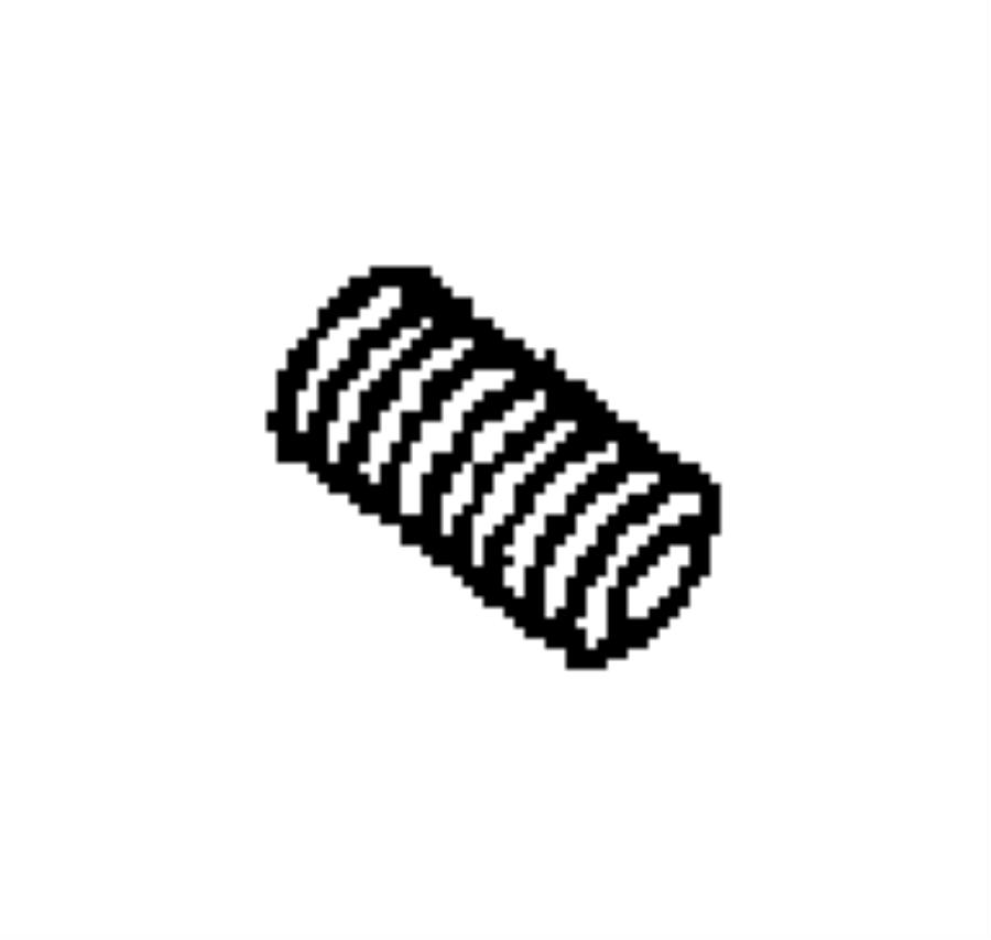 Chrysler Aspen Adapter, connector. Oil filter. 3/4-16