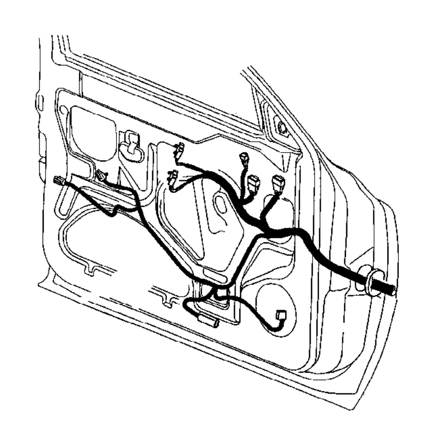 Dodge Ram 1500 Wiring. Door. Power, windows, infinity