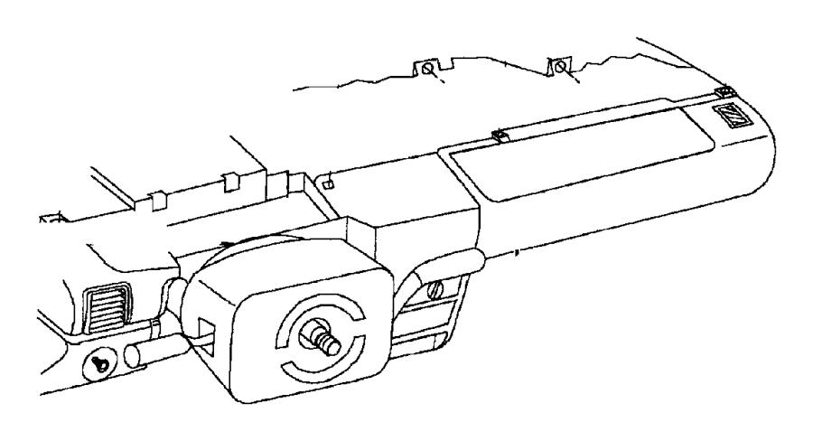 1991 Dodge Grand Caravan Switch. Headlamp. Mech