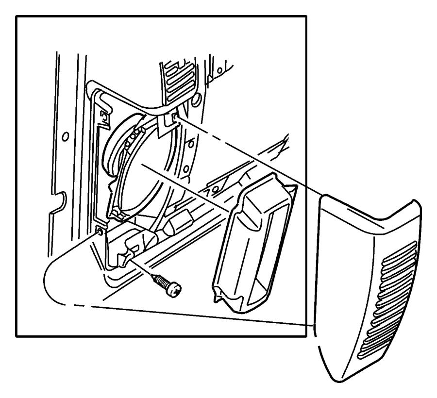 Jeep Wrangler Speaker. Instrument panel. Sound bar (5.25