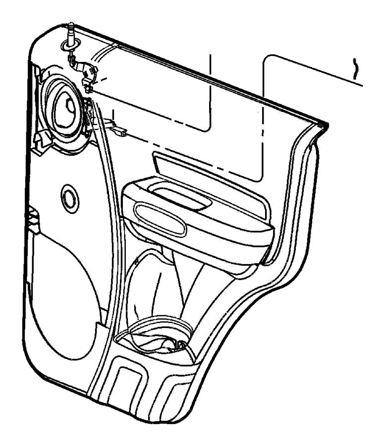 2003 Jeep Liberty Knob. Door lock. Left. Used up to 7/11