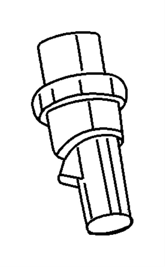 2003 Chrysler Sebring Switch. Back up lamp. Up to 06/02/03