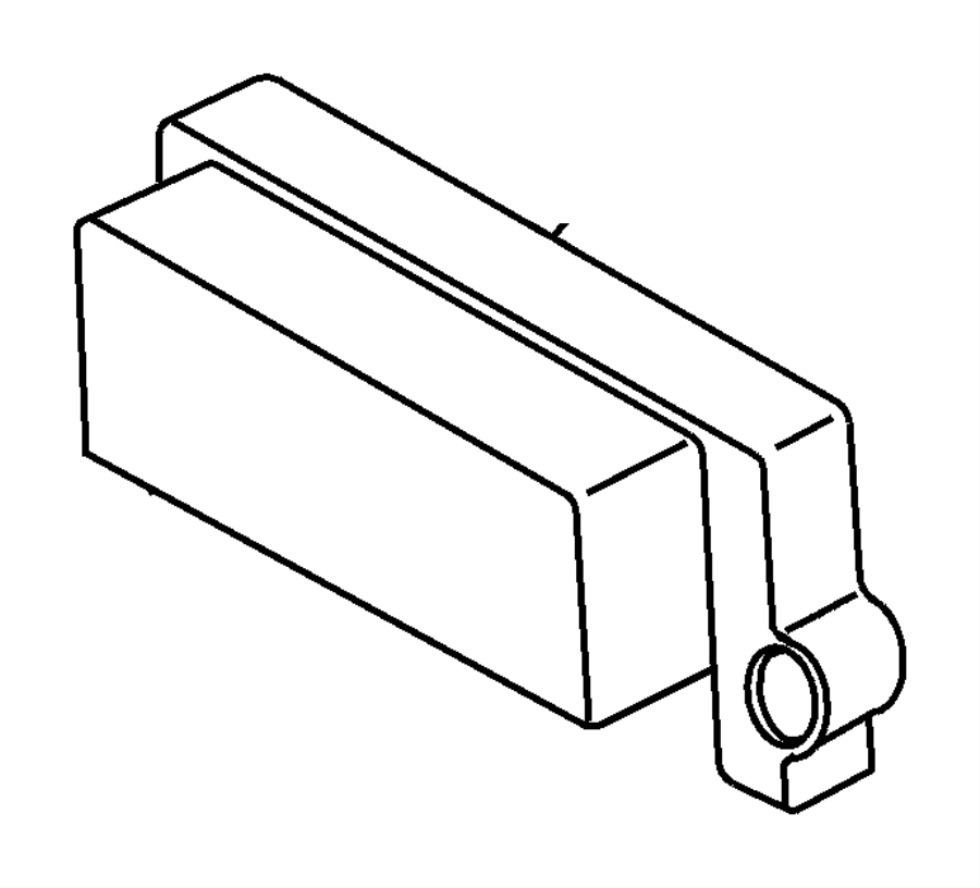 1998 Jeep Wrangler Module. Powertrain control. W/manual