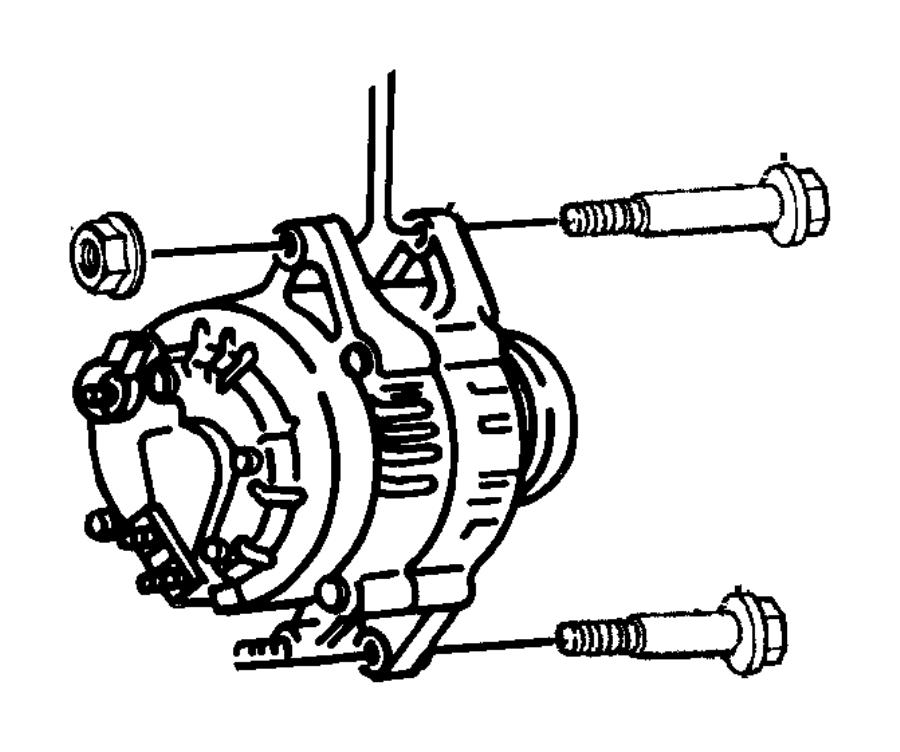 Jeep Grand Cherokee Generator. Engine. Remanufactured