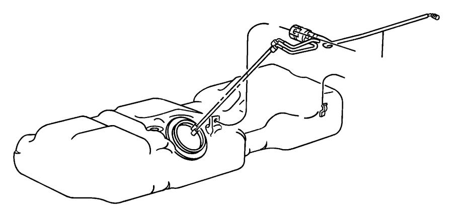2003 Dodge Caravan Filter. Fuel. Lines, pump, unit