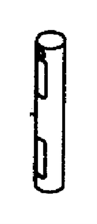 Dodge Viper Pin. M6x50. Transmission, dowel, differential