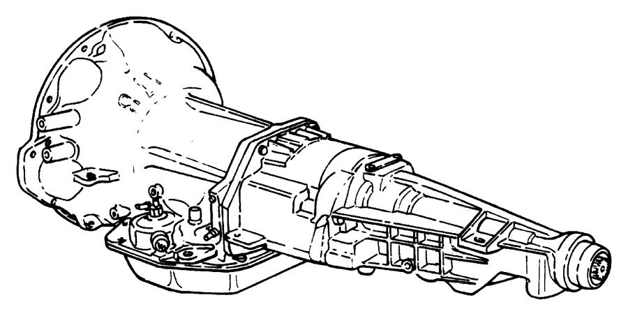 Dodge Ram 2500 Transmission package. Diesel. Engine