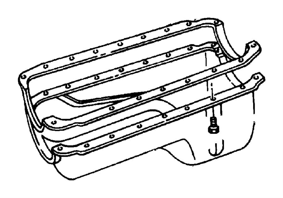 Chrysler Sebring Pan Engine Oil Ppan