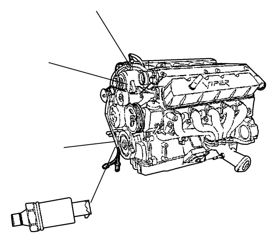 1996 Jeep Cherokee Sensor. Oil pressure. Mopar