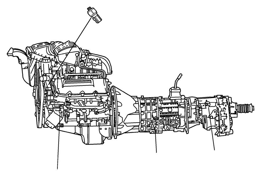 2008 Chrysler Aspen Switch. Power steering. Mopar