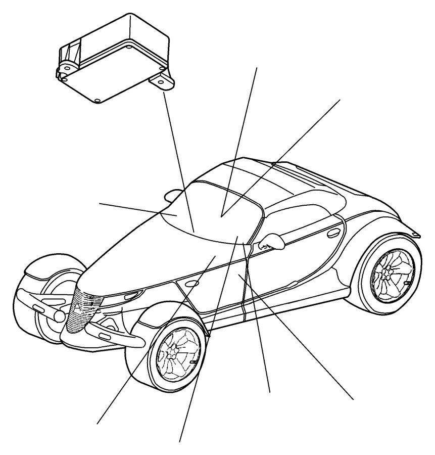 2008 Dodge Ram 4500 Module. Tire pressure monitoring. [220