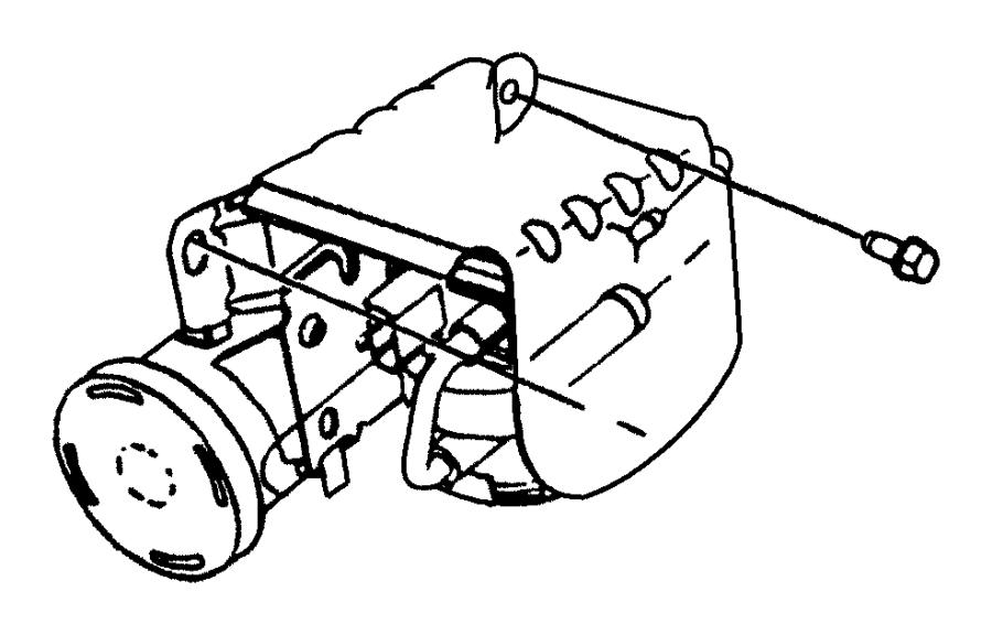 Dodge Neon Pump. Leak detection. Emissions, canister