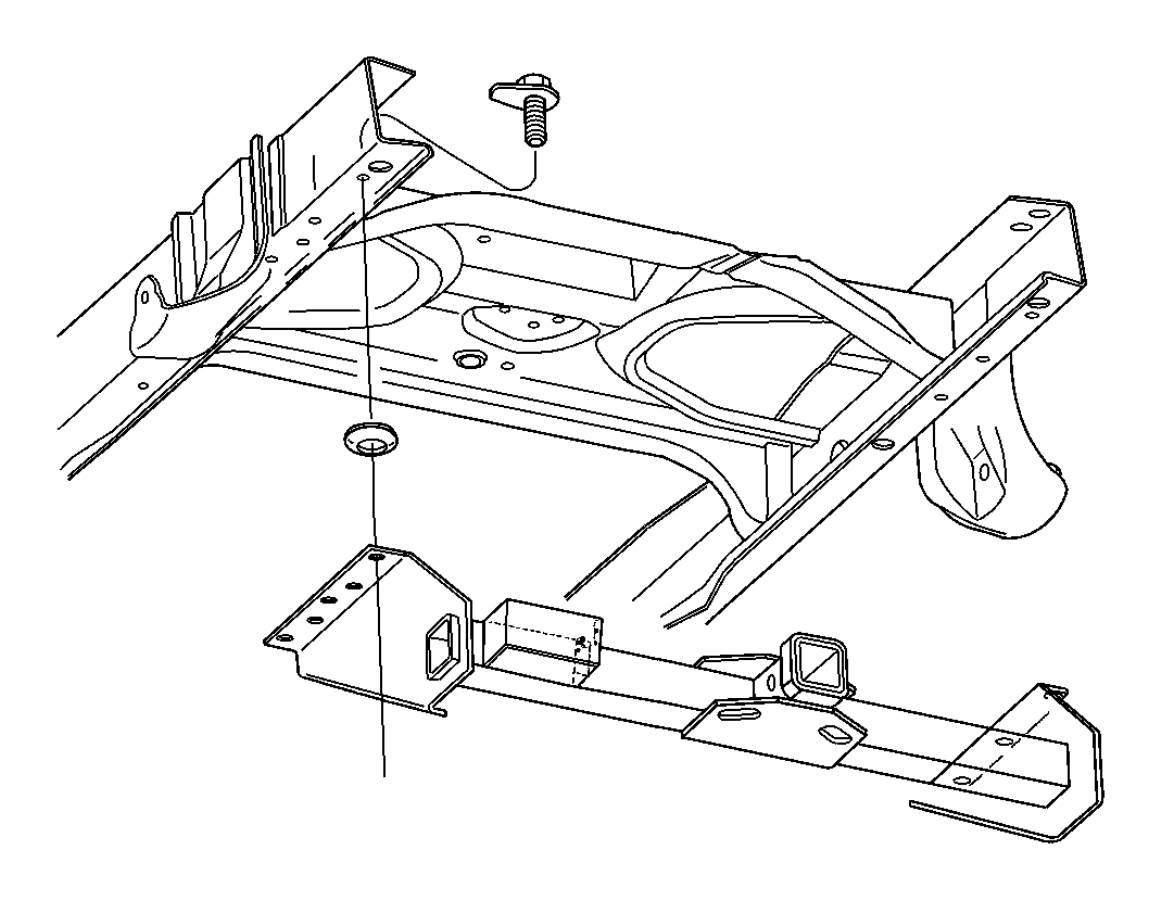 Dodge Ram 2500 Rec kit. Trailer tow. Wiring, rear, mopar